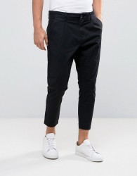 Only & Sons Cropped Chino - Black