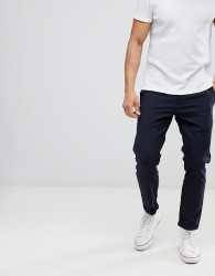 Only & Sons Cropped Smart Trouser - Navy