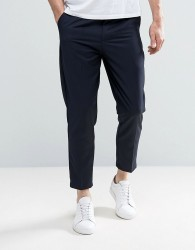 Only & Sons Cropped Trouser - Navy