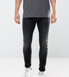 Only & Sons Jeans In Skinny Fit Washed Black - Beige