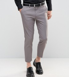 Only & Sons Skinny Cropped Trousers - Grey