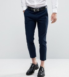 Only & Sons Skinny Cropped Trousers - Navy