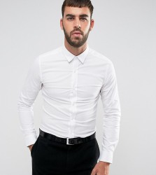 Only & Sons Skinny Smart Shirt With Stretch - White