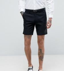 Only & Sons Skinny Smart Shorts - Black