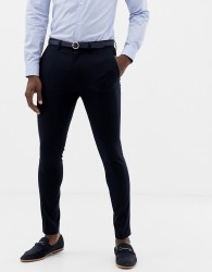Only & Sons skinny suit trousers - Navy
