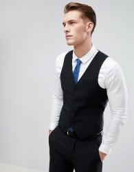 Only & Sons Skinny Waistcoat - Black