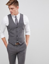 Only & Sons Skinny Waistcoat - Grey