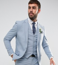 Only & Sons Skinny Wedding Suit Jacket - Blue