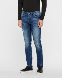 ONLY & SONS Spun Blue Damage denim jeans