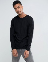 Only & Sons Textured Knitted Jumper - Black