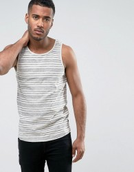 Only & Sons Vest with Stripe - Navy