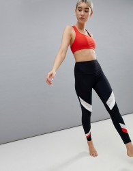 Onzie Colourblock Yoga Leggings - Multi