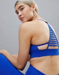 Onzie Elevate Yoga Bra In Black - Blue