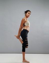Onzie Shredded Legging - Black