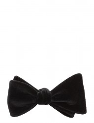 Open Bow-Tie Evening Velvet