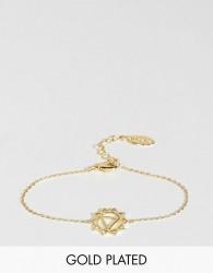 Orelia Gold Plated Chakra Bracelet - Gold