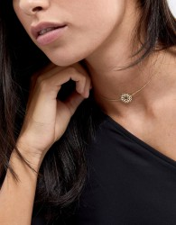 Orelia Gold Plated Chakra Necklace - Gold