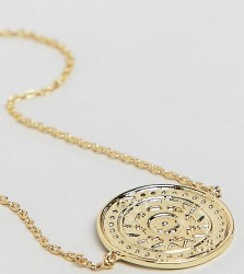 Orelia gold plated coin detail chain bracelet - Gold