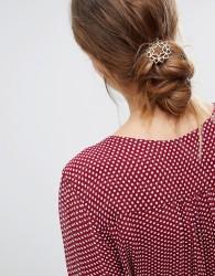 Orelia Heart Chakra Hair Clip - Gold
