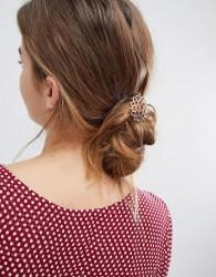 Orelia Rose Gold Crown Chakra Hair Clip - Gold