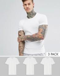 Original Penguin 3 Pack Lounge T-Shirt - White