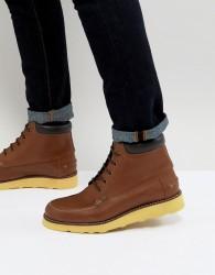 Original Penguin Copper Lace Up Boots in Tan - Tan