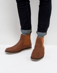 Original Penguin London Chelsea Boots In Tan - Black