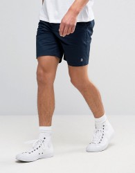 Original Penguin P55 Chino Shorts Slim Stretch Cotton in Navy - Navy
