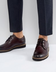 Original Penguin Plus Toe Cap Derby Shoes - Red
