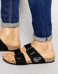 Original Penguin Slip On Sandals - Black