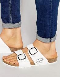 Original Penguin Slip On Sandals - White