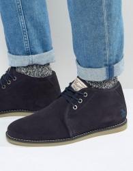 Original Penguin Suede Desert Boots - Navy