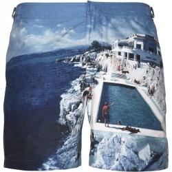 ORLEBAR BROWN BULLDOG HULTON GETTY shorts Navy
