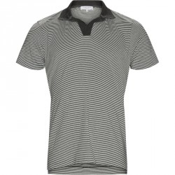 ORLEBAR BROWN FELIX NARROW STRIPE T-shirts Charcoal