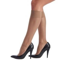 Oroblu Mi-Bas Jeune 20 Sheer Knee-Highs - Beige * Kampagne *