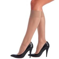 Oroblu Mi-Bas Jeune 20 Sheer Knee-Highs - Skin * Kampagne *