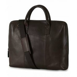 Oscar Jacobson Breifcase 13'' Laptop Dark Brown