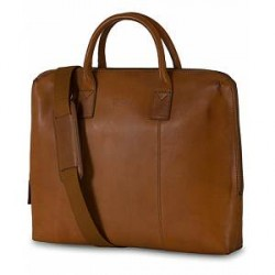 Oscar Jacobson Breifcase 13'' Laptop Tan