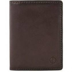 Oscar Jacobson Credit Card Wallet Dark Brown