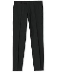 Oscar Jacobson Damien Trousers Super 120's Wool Black men 46 Sort