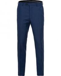 Oscar Jacobson Denz Wool Trousers Blue