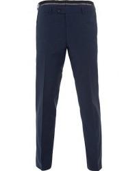 Oscar Jacobson Denz Wool Trousers Mid Blue men 52