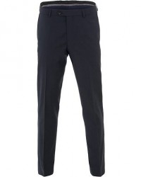 Oscar Jacobson Denz Wool Trousers Navy men 48