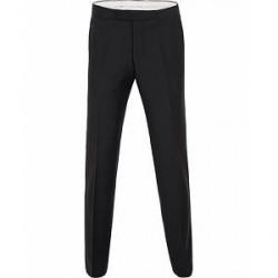 Oscar Jacobson Devon Tuxedo Trousers Black