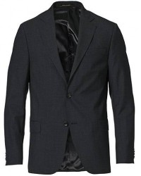 Oscar Jacobson Edmund Blazer Super 120's Wool Grey men 54 Grå