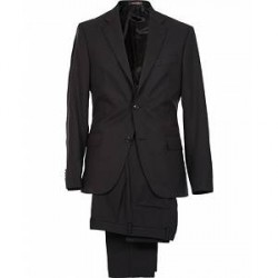Oscar Jacobson Edmund Suit Super 120's Wool Black