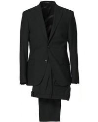 Oscar Jacobson Edmund Suit Super 120's Wool Black men One size Sort