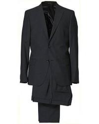 Oscar Jacobson Edmund Suit Super 120's Wool Grey men One size Grå