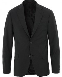 Oscar Jacobson Edmund Wool Blazer Black men 48
