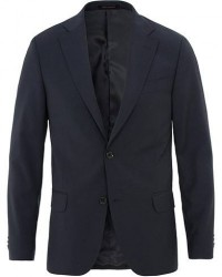 Oscar Jacobson Edmund Wool Blazer Navy men 48